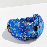 Floral Brocade Headwrap   Urban Outfitters