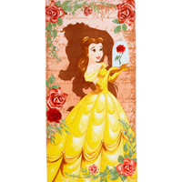 Disney Beauty And The Beast Animated Belle Beach Towel