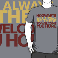 Hogwarts will always be there to welcome you home! by loveaj