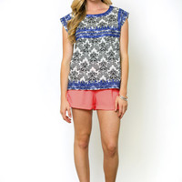 Layla Printed Blouse