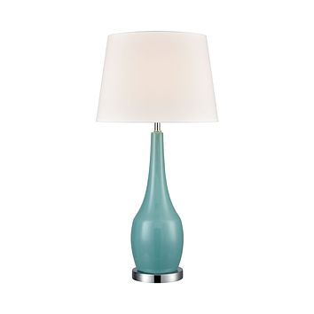 Napoli Table Lamp in Teal