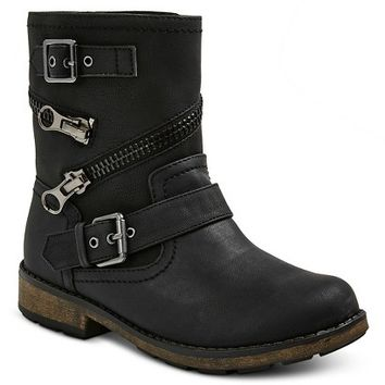 Stevies Girls' #ROCKON Fashion Moto Boots