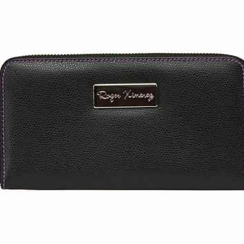 Black Limited Edition Women's Leather Wallet