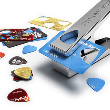 PickMaster Plectrum Punch - Make Your Own Picks
