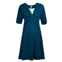 Maternity Clothes Comfortable Cotton Nursing Breastfeeding Clothes Dress for Pregnant Women Summer Pregnancy Dress Clothing 2016