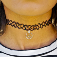 Peace Wicked Choker