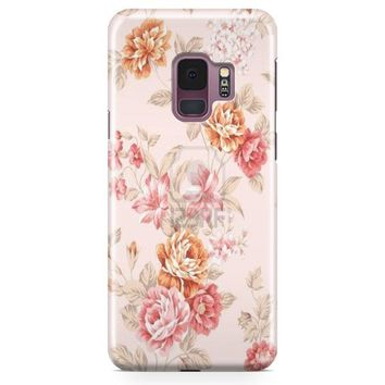 Rose Bouquet Seamless Pattern Samsung Galaxy S9 Case | Casefantasy