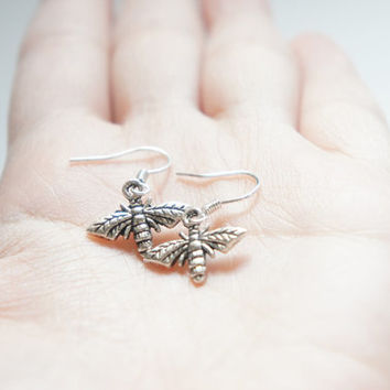 Mini Little Flies Dangle Earrings