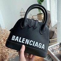 Balenciaga 2020 New Mini Women's Shell Bag Handbag Crossbody Bag