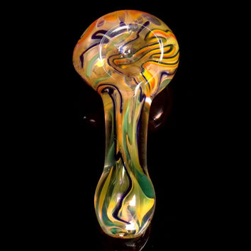 Gold Fume and Rainbow Bowl