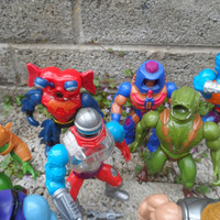 Vintage He-man action figure lot - vintage toys 1980's kids Tv action figures - vintage collectible toys - Mattel 1983