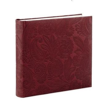 Leather Paisley Photo Album