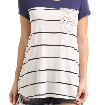 Eliza Pocket Tee