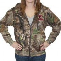 Zipper Hoodie - Realtree APG Camo with Pink Logo