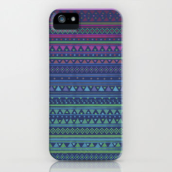 SUMMER NIGHTS iPhone & iPod Case by Nika