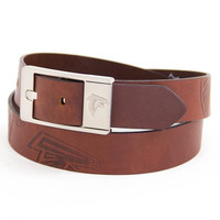 Atlanta Falcons NFL Brandish Leather Belt Size 38