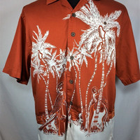 Chiliwear Brand Texas Longhorns Hawaiian Shirt - Medium