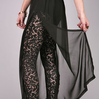 Wind Grazer Maxi Skirt | Edgy Skirts at Pink Ice