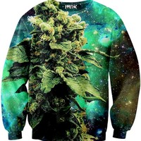 Weed Galaxy Sweater