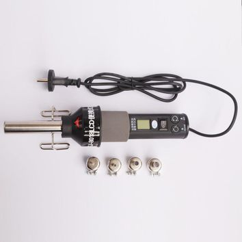 Heat gun 220v Electrical Temperature Digital Display Temperature Adjustable Building hair dryer Hot Air gun soldering Heat gun