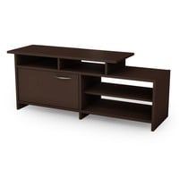 South Shore Step One Collection TV Stand, Chocolate