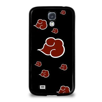 naruto akatsuki clouds samsung galaxy s4 case cover  number 1