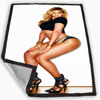 Beyonce High Heels Blanket for Kids Blanket, Fleece Blanket Cute and Awesome Blanket for your bedding, Blanket fleece *