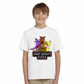 LYTLM Summer Toddler Boys Clothing Kids Boys  at Freddy T Shirts Kids Cute Cartoons Pattern Shirts for Boys  Tops