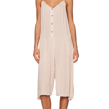 Somedays Lovin Spell Cast Midi Jumpsuit in Cream