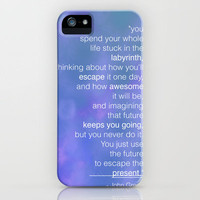 Looking For Alaska, John Green iPhone Case by gabsnisen | Society6