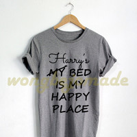 Harry Styles Shirt Black Grey Maroon and White Color Tshirt