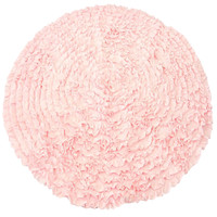Light Pink Ruffles - Nursery Rugs (Made to Order. Usually ships in 2-3 weeks)