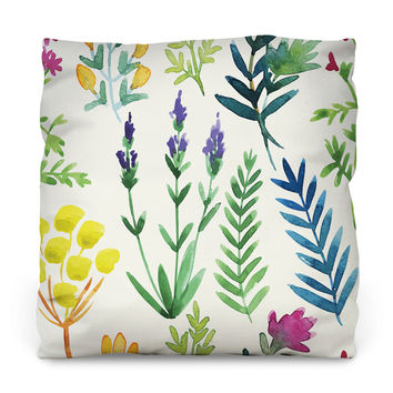 Fern Gully Outdoor Throw Pillow