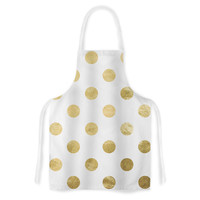 "KESS Original ""Scattered Gold"" Artistic Apron"