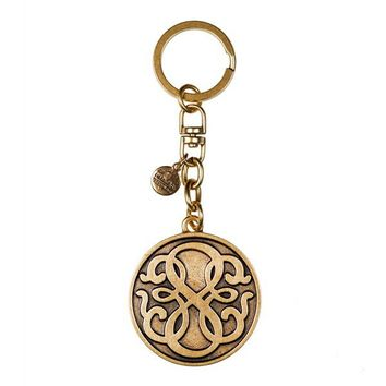 Alex and Ani Path Of Life Key Chain - Russian Gold