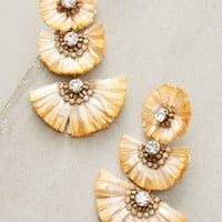 Raffia Palm Drop Earrings