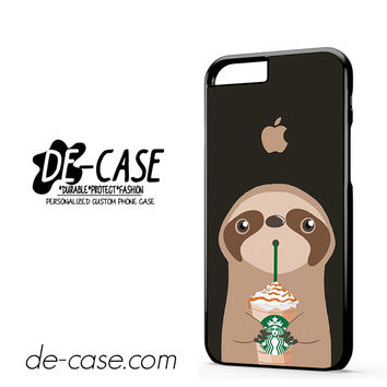 I Love Starbucks Sloth For Iphone 6 Iphone 6S Iphone 6 Plus Iphone 6S Plus Case Phone Case Gift Present YO