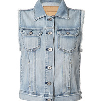 Adriano Goldschmied - Light Blue Jean Vest