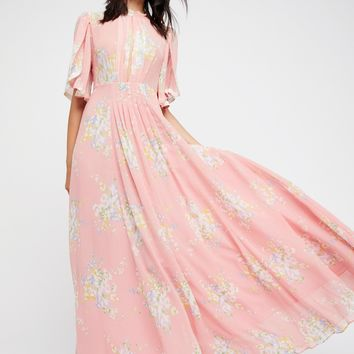 Free People Wildflowers Maxi Dress