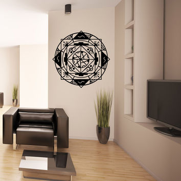 Vinyl Wall Decal Sticker Abstract Geometric Design #OS_MB872