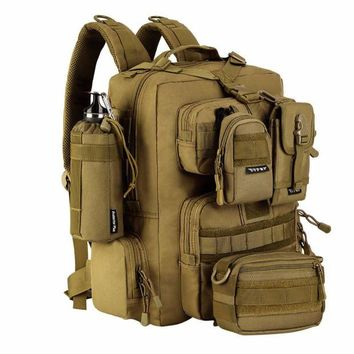 DCCK7N3 Military Tactical Assault Pack Backpack Army Molle Waterproof Bug Out Bag Backpacks Small Rucksack for Outdoor Hiking Camping