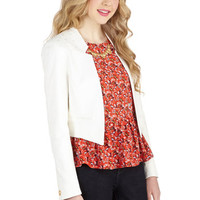Closet Menswear Inspired Short Long Sleeve Cropped Wine Tasting Classic Blazer