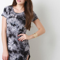 Women's Tie Dye T-Shirt Dress