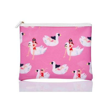 Full Disclosure White Swans Swim Bag