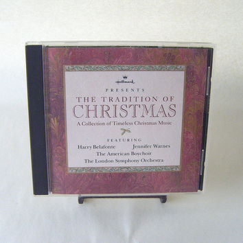 Tradition of Christmas Hallmark Collection CD Vintage Used Holiday Harry Belafonte The American Boys Choir London Symphony Orchestra
