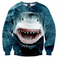 Ocean Shark Sweatshirt