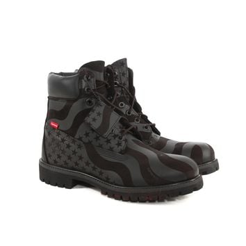 Supreme Black American Flag Timberlands