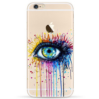 Transparent Eye Iphone 6 6s Cases