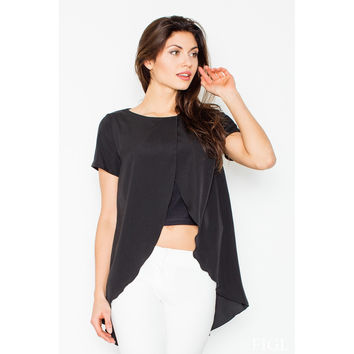 Blouse M465 (Black)