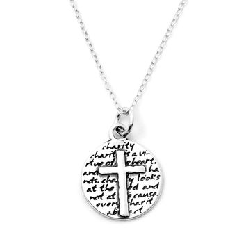 Cross Necklace (Charity)-D61SM